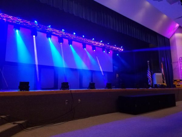 Custom Stage Lighting Package Blair Entertainment